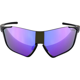 Red Bull SPECT Flow Sunglasses matte black/grey-purple